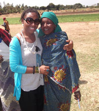 Bintu supported female entrepreneurs in rural Tanzania