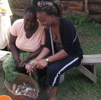 Bintu worked with women running small businesses in rural Tanzania