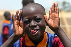 Coaching for Hope player in Burkina Faso